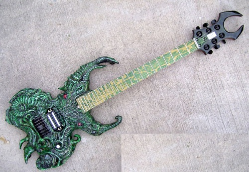 cthulhu horror guitar