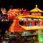 dragon at  lantern festival