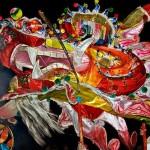dragon head at Chinese New Year Parade