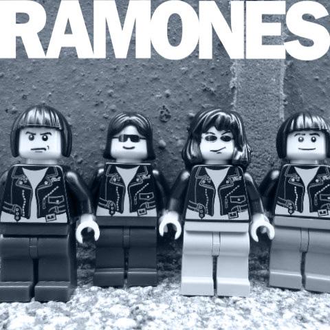 lego ramones album cover
