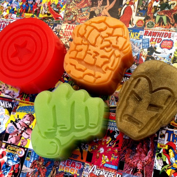 marvel superhero soap