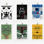 more loopz star wars art prints