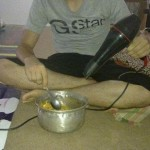 noodles blow dry