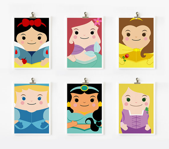 princess loopz art prints