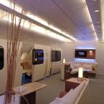 Qantas A380 first class lounged