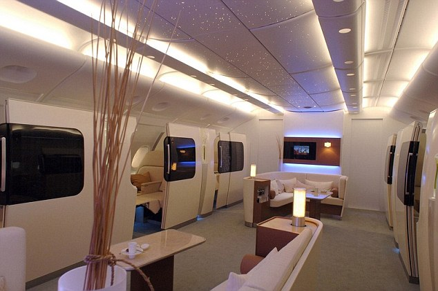 Qantas A380 first class lounged