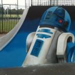R2-D2 Skate Mural