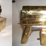 steampunk coilgun pistol