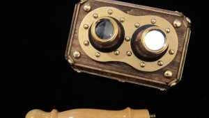 steampunk iphone 3d stereoscope viewer 1