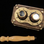 steampunk iphone 3d stereoscope viewer 5