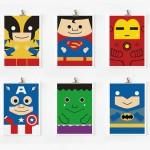 super heroes arts prints