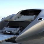 super yacht car garage