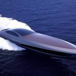 super yacht water