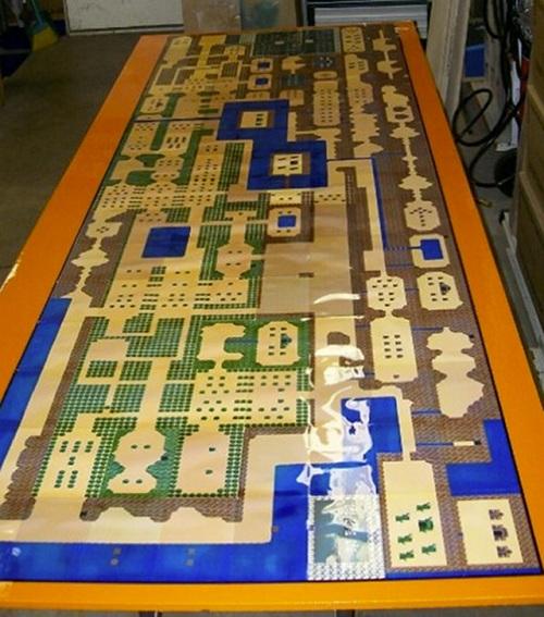 zelda beer pong table