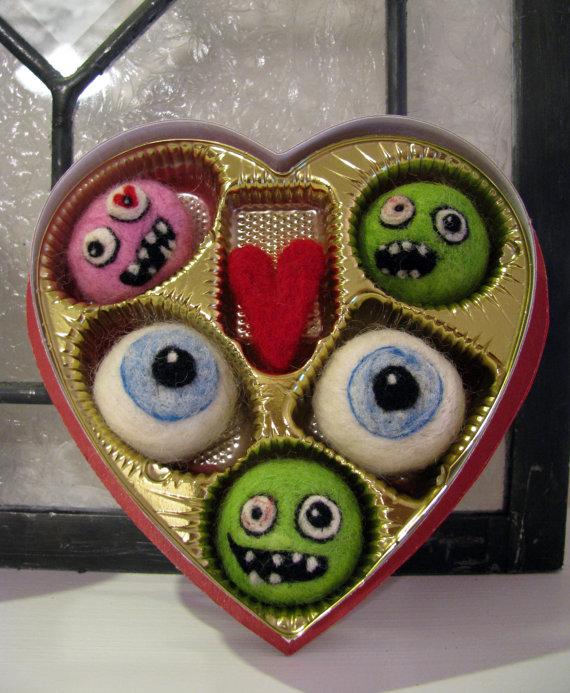 Zombie Valentine's Day Candy