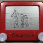 Droids Etch a Sketch