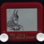 Etch a Sketch Batman
