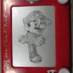 Etch a Sketch Super Mario