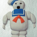 GHOSTBUSTERS STAY PUFT MARSHMALLOW CAKE