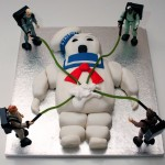 GHOSTBUSTERS STAY PUFT MARSHMALLOW MAN CAKE