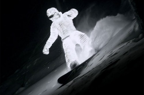 LED Surfer Image