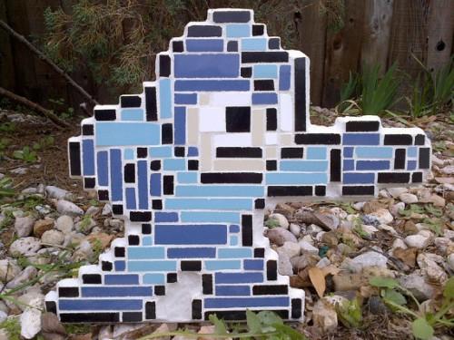 Mosaic Mega Man Image 1