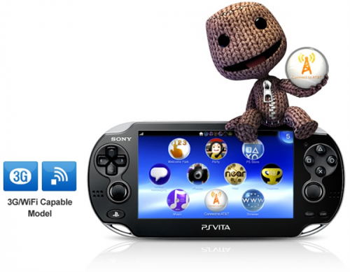PlayStation Vita 3G Data Plans Image
