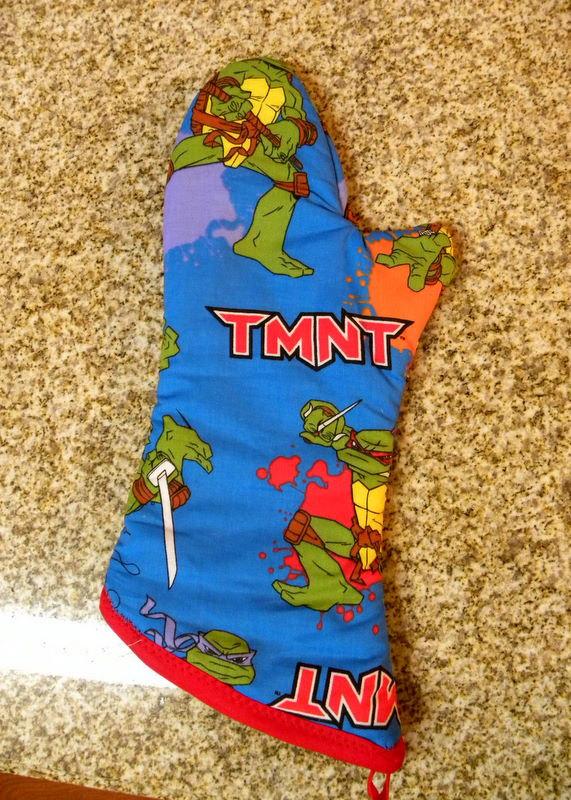 Teenage Mutant Ninja Turtles oven mitt