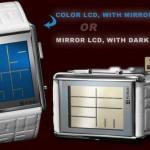 The Kisai Stencil LCD Mirrored