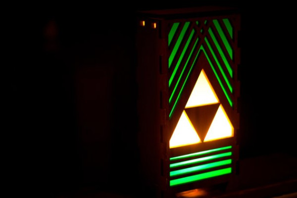 Triforce-Lamp