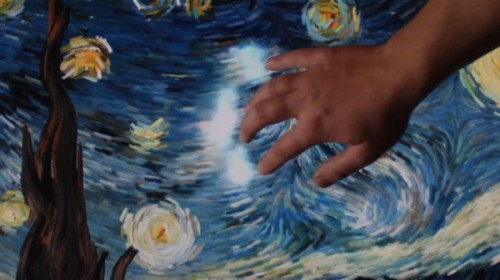 Van Goh Starry Night Interactive Image