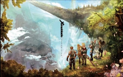 Xenoblade Chronicles Alt Cover Wii Image