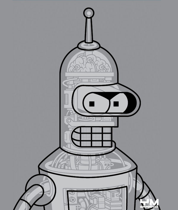 bender android anatomy