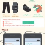 Geek Vs. Hipster infographic