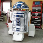 Giant Driveable R2-D2