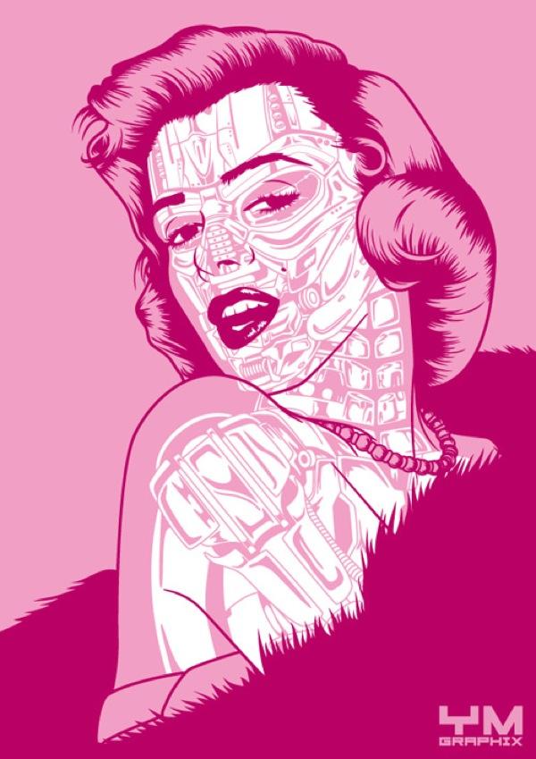 Marilyn Monroe-Marilynatrix