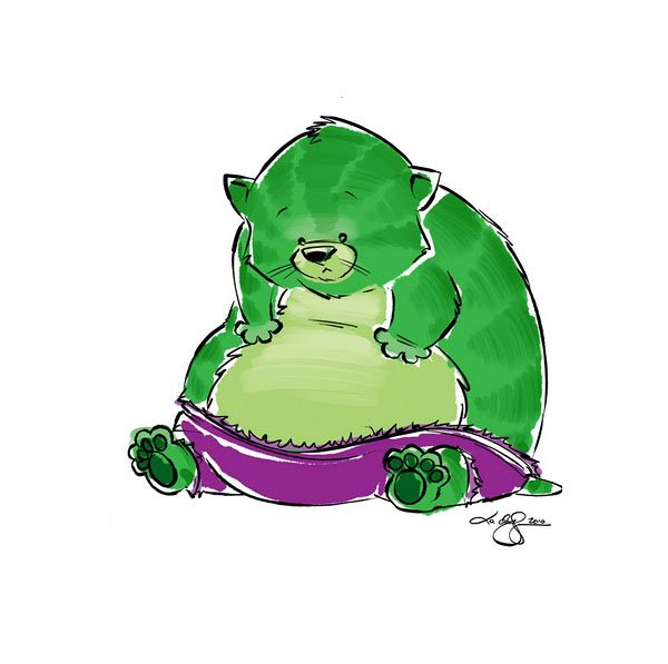 marvel hulk cats picture