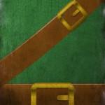 minimalist zelda link poster