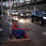 spiderman down on his luck in real life