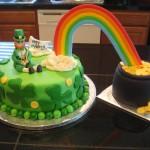st patricks cake