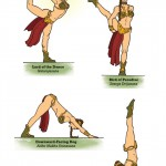 Star Wars yoga Princess leia