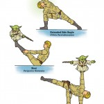Star Wars yoga Yoda