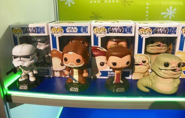 Star Wars vinyl toys by Funko Pop!