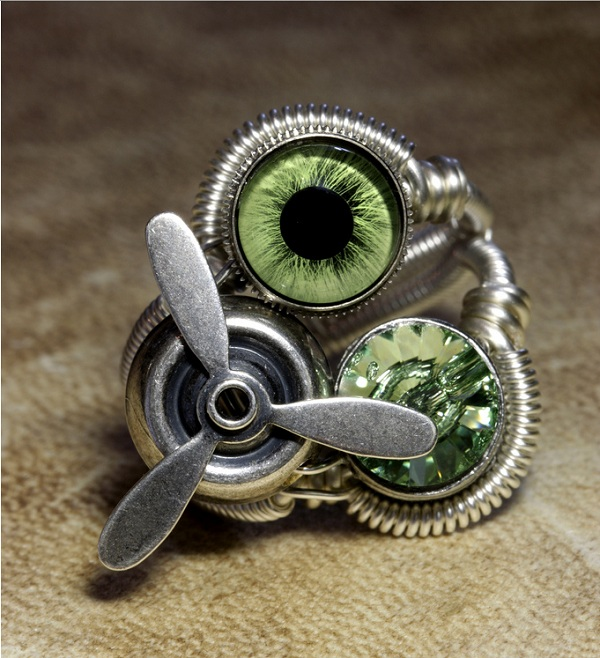 steampunk ring motor