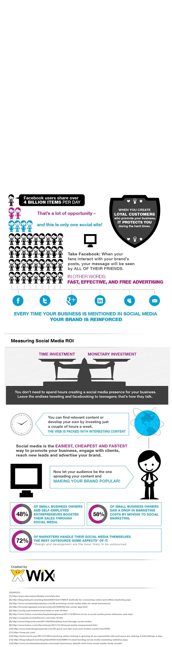 wix social media 1