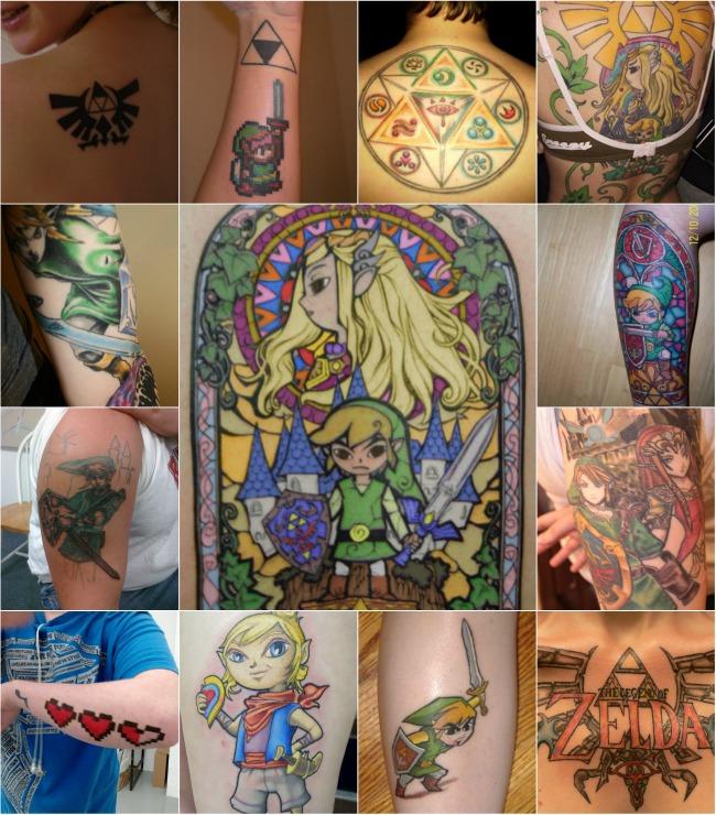 zelda-tattoos