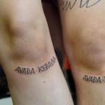 Avada Kedavara Tattoo