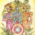 Avengers Beatles
