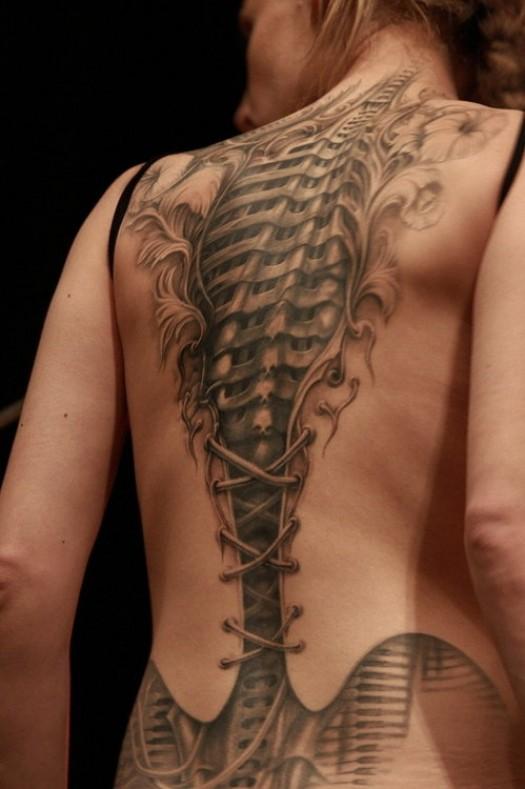 Cyborg-tattoo
