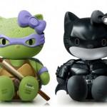 Dark Knight Donatello Hello Kitty